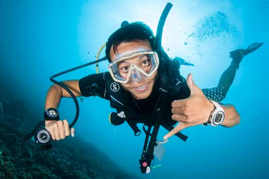 PADI enriched air nitrox diving course
