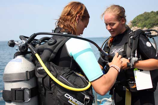 Scuba review refresher dive