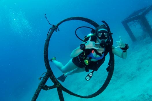 PADI advanced open water diver course in Ko Tao
